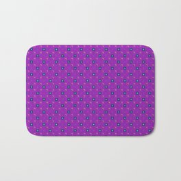 Uptown Ultraviolet Pattern Bath Mat