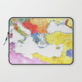 The Ancient Mediterranean Laptop Sleeve