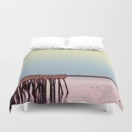 Maine Sunrise Duvet Cover