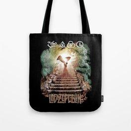 Red Zeppelin - Stairway to Heaven Tote Bag