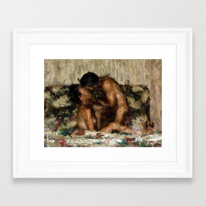 I Adore You Framed Art Print