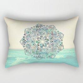 Mandala Mermaid Oceana Rectangular Pillow