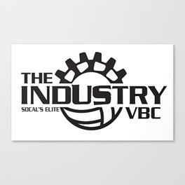 Industry Logo No/White background Canvas Print