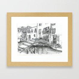 Views of Venice Framed Art Print