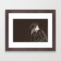 Peaky Framed Art Print