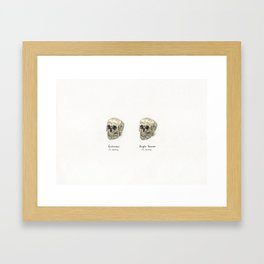 Spot the difference Framed Art Print