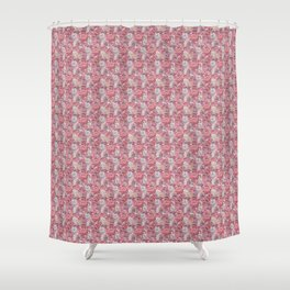 Rose Wall Shower Curtain