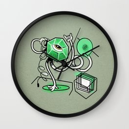 Mr. Gemstone Wall Clock