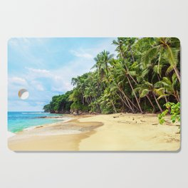 Tropical Beach - Landscape Nature Photography Cutting Board