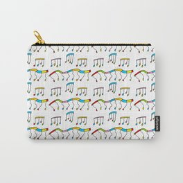 Colors and music--music,melody,fun,pleasure, rhythm, dance, art,sound,pitch,harmony,musical Carry-All Pouch