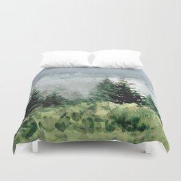 Pine Trees 2 Duvet Cover