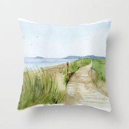 Inverness Beach Throw Pillow