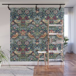 Strawberry Thief by William Morris  Wall Mural
