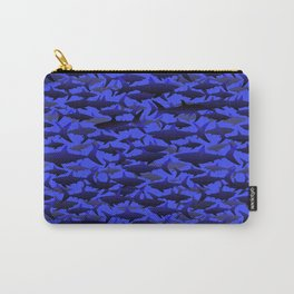 Sharks In Deep Blues. Carry-All Pouch