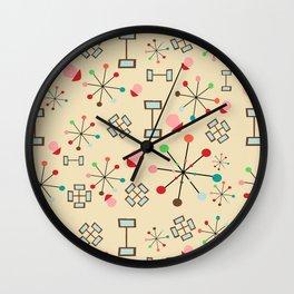 Mid century #4 Wall Clock