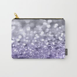 Purple Gray MERMAID Girls Glitter #1 #shiny #decor #art #society6 Carry-All Pouch