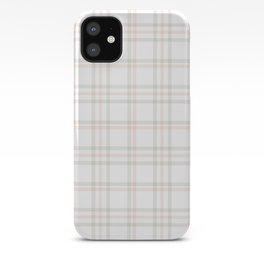 Cute Plaid 1 iPhone Case