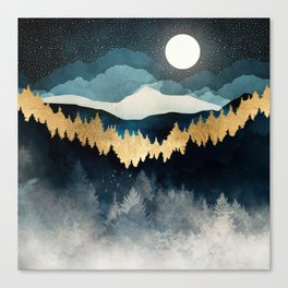 Indigo Night Canvas Print