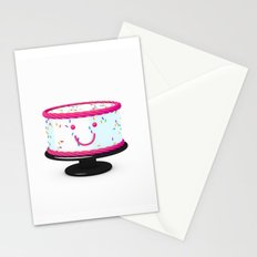 The cake is not a lie. Stationery Cards