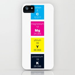 The Elements of Color iPhone Case