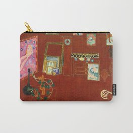 Henri Matisse The Red Studio Carry-All Pouch
