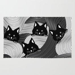 Hidden Kitties Rug