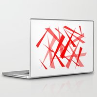 chaos Laptop & iPad Skins featuring chaos by Sébastien BOUVIER
