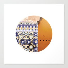 #255 — Deep in the Medina — Marrakesh Canvas Print