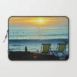 Modern Cambria CA Sunset Laptop Sleeve