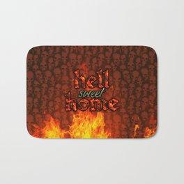 Hell Sweet Home Bath Mat