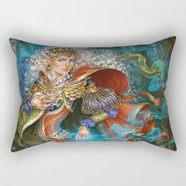 Elven sorceress Rectangular Pillow