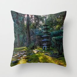Five tier Japanese Lantern Throw Pillow