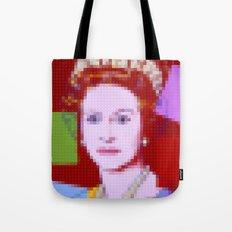 Lego: Queen Elizabeth II Tote Bag