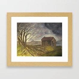 Abandoned Shack Framed Art Print