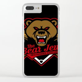 The Bear Jew Clear iPhone Case
