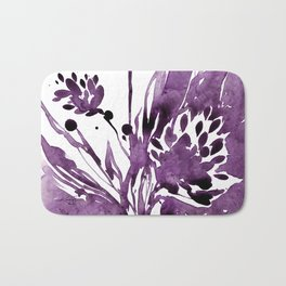 Organic Impressions No.104 by Kathy Morton Stanion Bath Mat