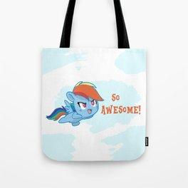 Rainbowdash cutie  Tote Bag