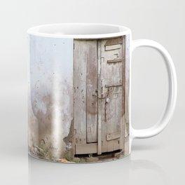 Daily life | Boy and mum washing clothes | Travel Photography Coffee Mug
