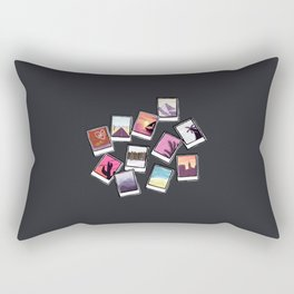 Instant Film Photos I Rectangular Pillow