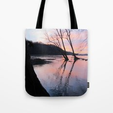 reflecting dusk Tote Bag