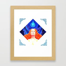 Will O the Wisp Framed Art Print