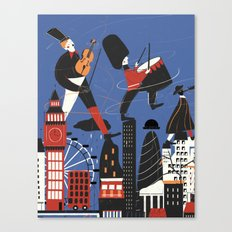 City Sound Canvas Print