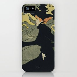 Henri De Toulouse Lautrec - Divan Japonais iPhone Case
