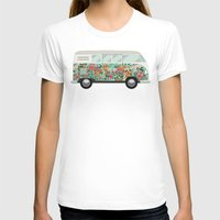 hippie T-shirts featuring Hippie van by eARTh