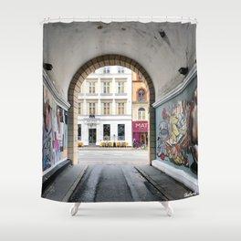 Streetart Shower Curtain