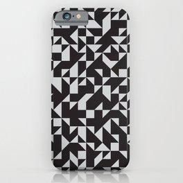 Girard Inspired Geometric Pattern iPhone Case