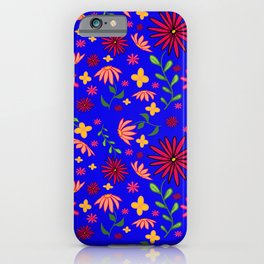Bright and Bold Flowers iPhone Case