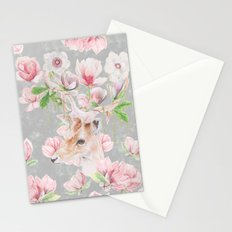 Deer Head & Magnolia's  Stationery Cards