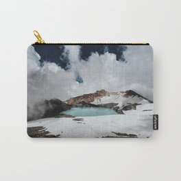 New Zealand Mount Ruapehu Volcano Carry-All Pouch