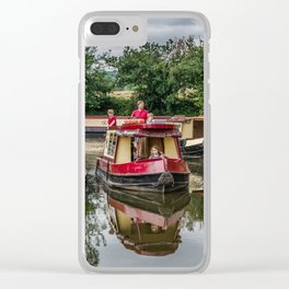 A Day Cruising Clear iPhone Case